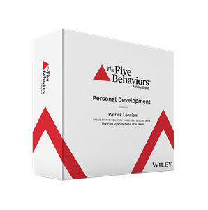 The Five Behaviors™ Personal Development Facilitator Kit (DiSC Version)